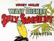 affiche silly symphony petit indien Walt Disney Animation poster