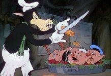 Walt Disney Animation poster affiche silly symphony petit loup