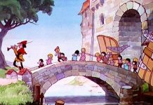 affiche silly symphony pied piper Walt Disney Animation poster