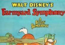 affiche silly symphony symphonie ferme Walt Disney Animation poster