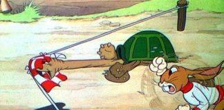 affiche silly symphony tortoise hare Walt Disney Animation poster