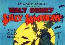 affiche silly symphony vieux moulin Walt Disney Animation poster