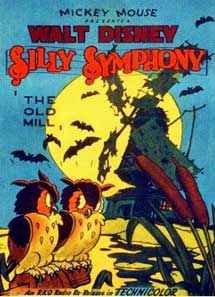 affiche silly symphony vieux moulin Walt Disney Animation poster