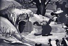 affiche silly symphony winter Walt Disney Animation poster