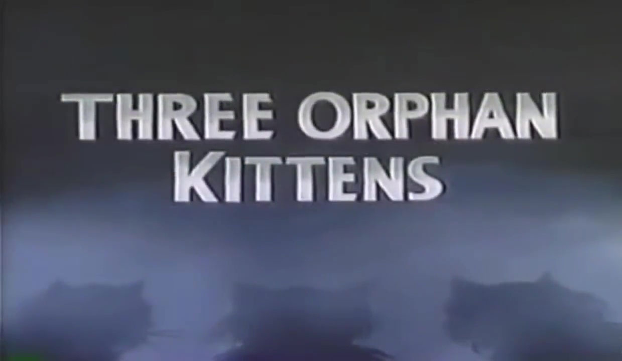 affiche poster trois petits orphelins three orphans kittens disney silly symphony