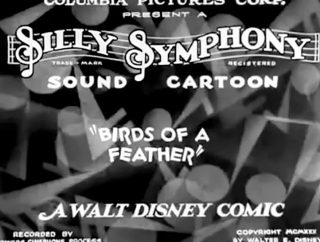 affiche poster woody goguenarde birds feather disney silly symphony