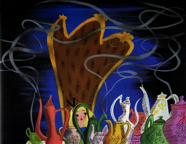 Artwork Concept art Alice au pays des merveilles Disney Wonderland