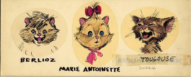 Artwork Concept Art Les Aristochats Disney The Aristocats