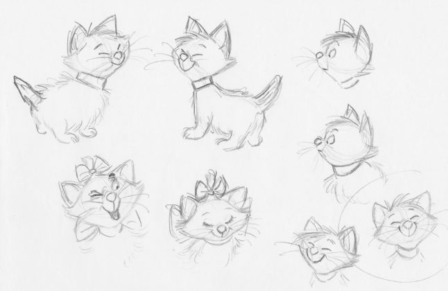 Artwork Concept Art Les Aristochats Disney The Aristocats