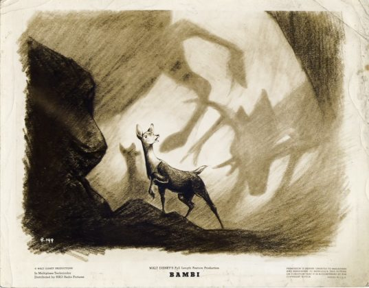 Artwork Concept art Bambi Disney