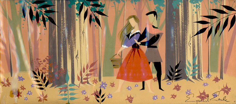 Concept Art Artwork La Belle au bois dormant Disney Sleeping Beauty