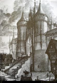 Artwork Concept art Le bossu de Notre-Dame Disney Hunchback