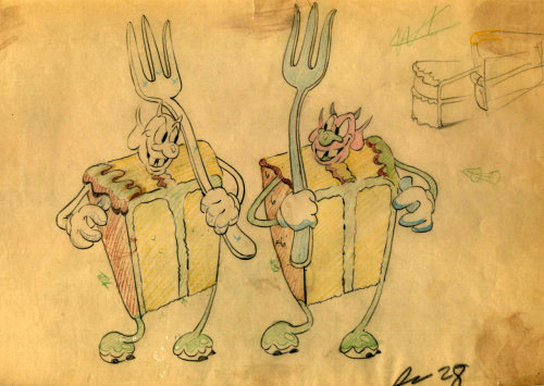 artwork carnaval gâteaux cookies disney silly symphony