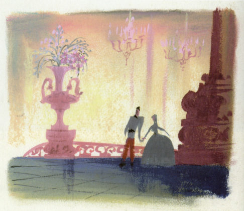 Artwork Cendrillon Concept art Disney Cinderella