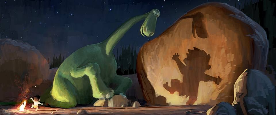 Pixar Disney artwork good dinosaure