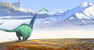 Pixar Disney artwork good dinosaure