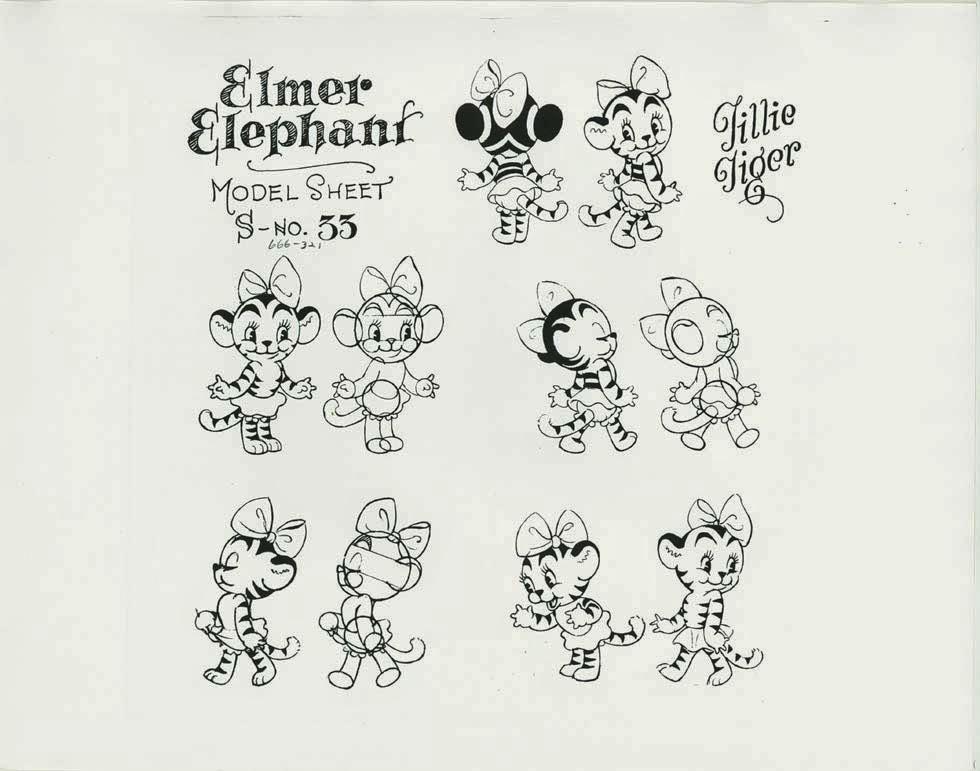 artwork elmer elephant disney silly symphony