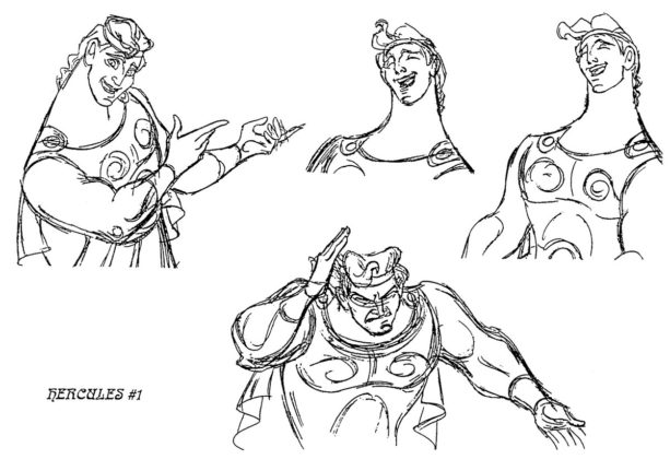 Artwork Hercule Disney Concept Art