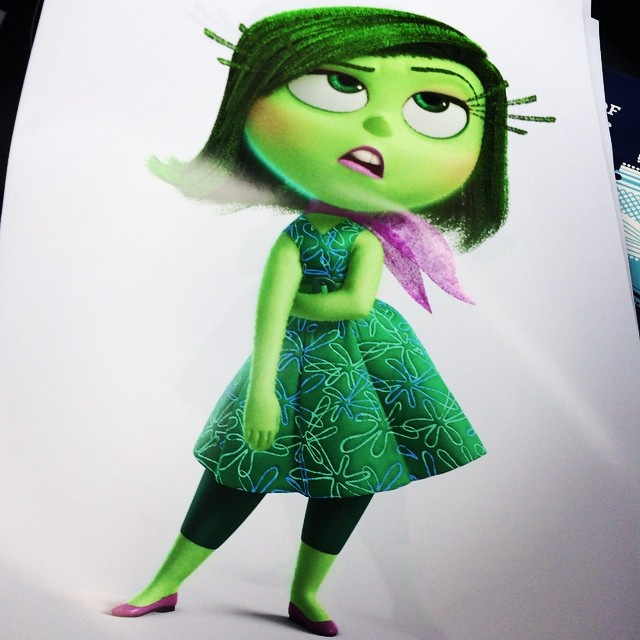 artwork inside out Pixar DIsney