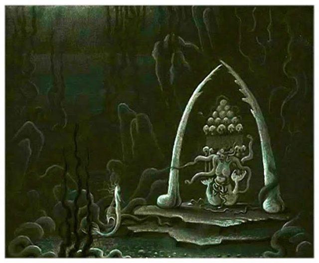 Artwork Concept art La petite sirène Disney Little mermaid