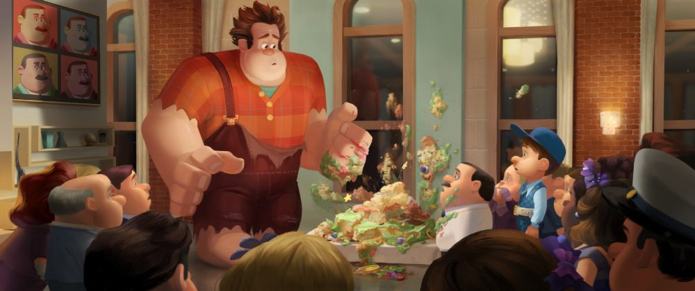 Artwork Concept art Les mondes de Ralph Disney Wreck it