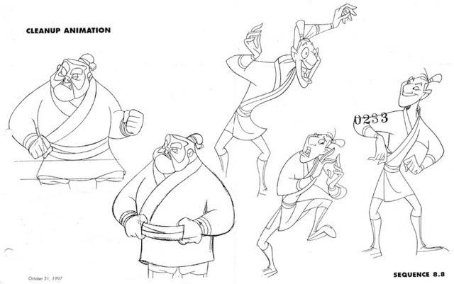 Artwork Concept Art Mulan Disney