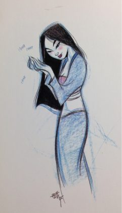 Artwork Concept Art Mulan Disney