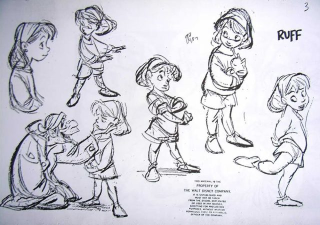 Artwork Concept art Oliver compagnie Disney Poster Company