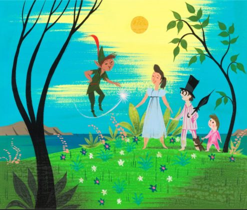 Artwork Concept art Peter Pan Disney
