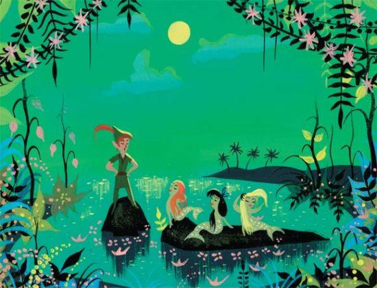 Artwork Concept art Peter Pan Disney