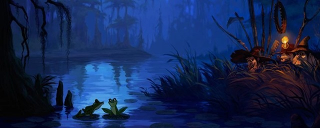 Artwork Concept art La princesse et la grenouille Disney Princess and the frog