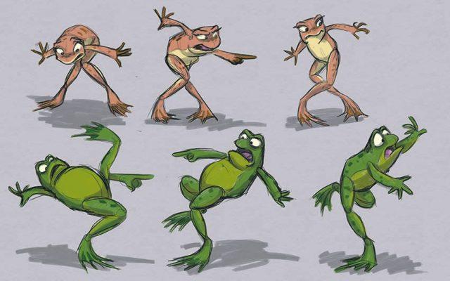 Artwork Concept art La princesse et la grenouille Disney Princess and the frog