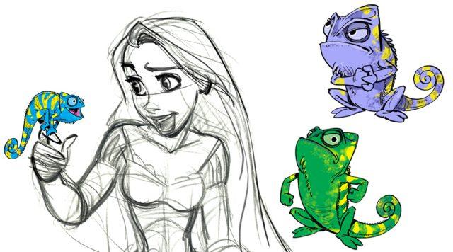 Artwork Concept art Raiponce Disney Tangled