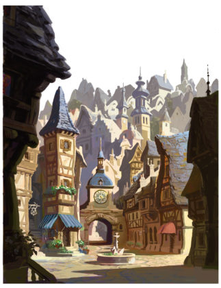 Artwork Concept art Raiponce Disney Tangled