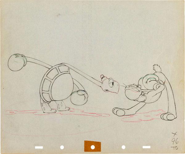 artwork retour toby tortue returns tortoise disney silly symphony