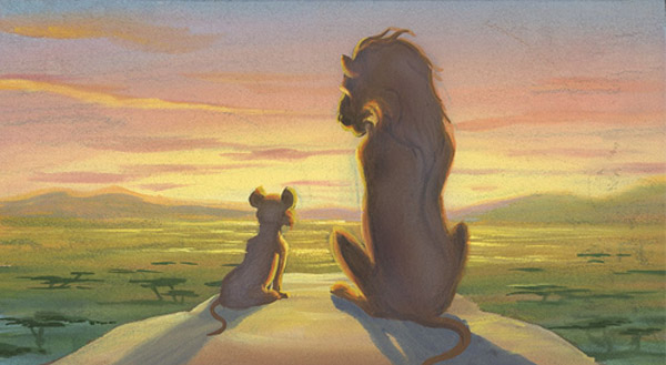 Artwork Concept art Le roi lion Disney King