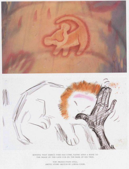 Artwork Concept art Le roi lion Disney King