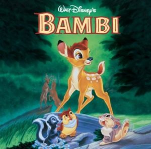 Disney bande originale soundtrack album bambi