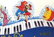 boite musique Disney bande originale soundtrack album make mine music