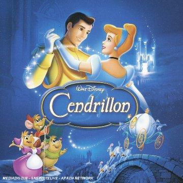 Disney bande originale soundtrack album cendrillon cinderella