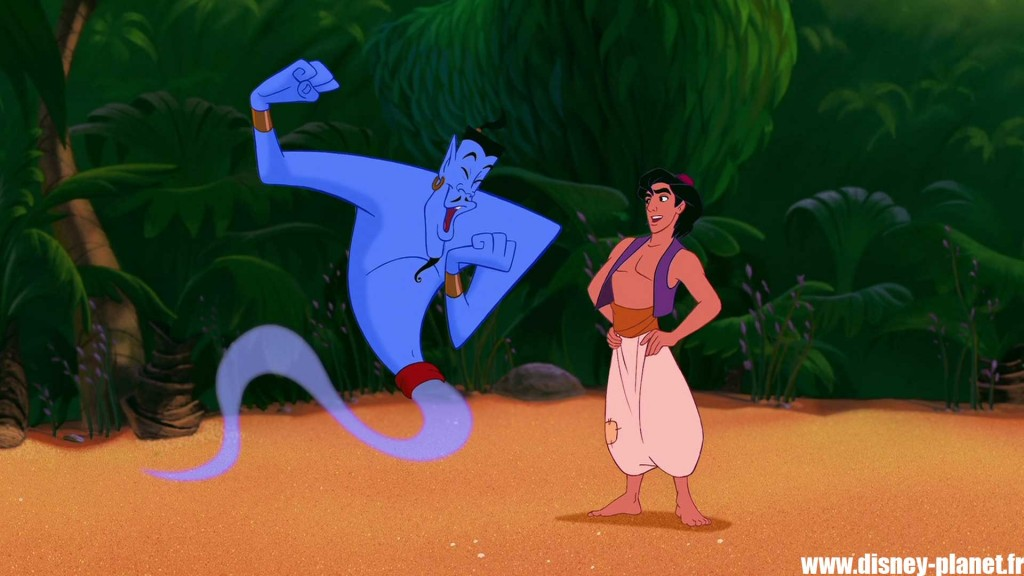 clin oeil aladdin easter egg walt disney animation