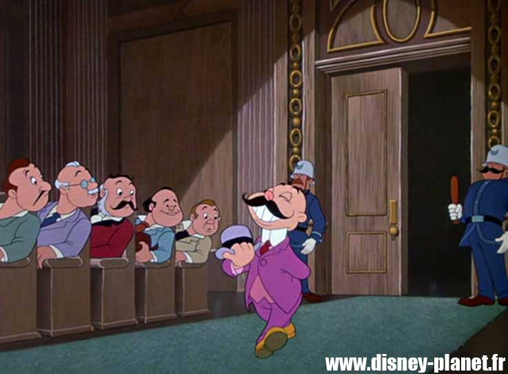 clin oeil crapaud maitre ecole  easter egg walt disney animation The Adventures of Ichabod & Mr. Toad
