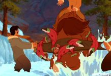 clin oeil frere ours easter egg walt disney animation brother bear