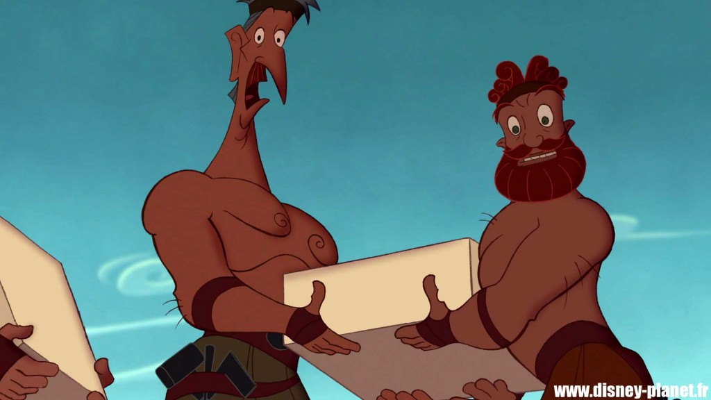 clin oeil hercule easter egg walt disney animation
