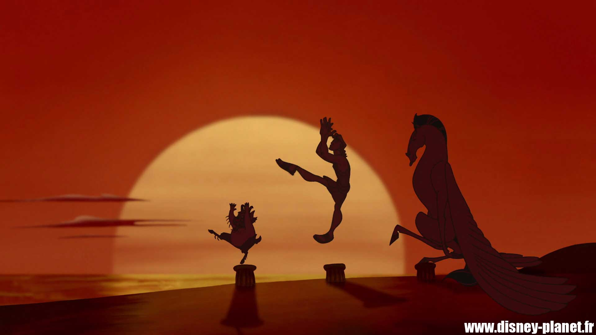 clin oeil hercule easter egg walt disney animation