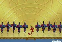 clin oeil kuzco easter egg walt disney animation Emperor New Groove