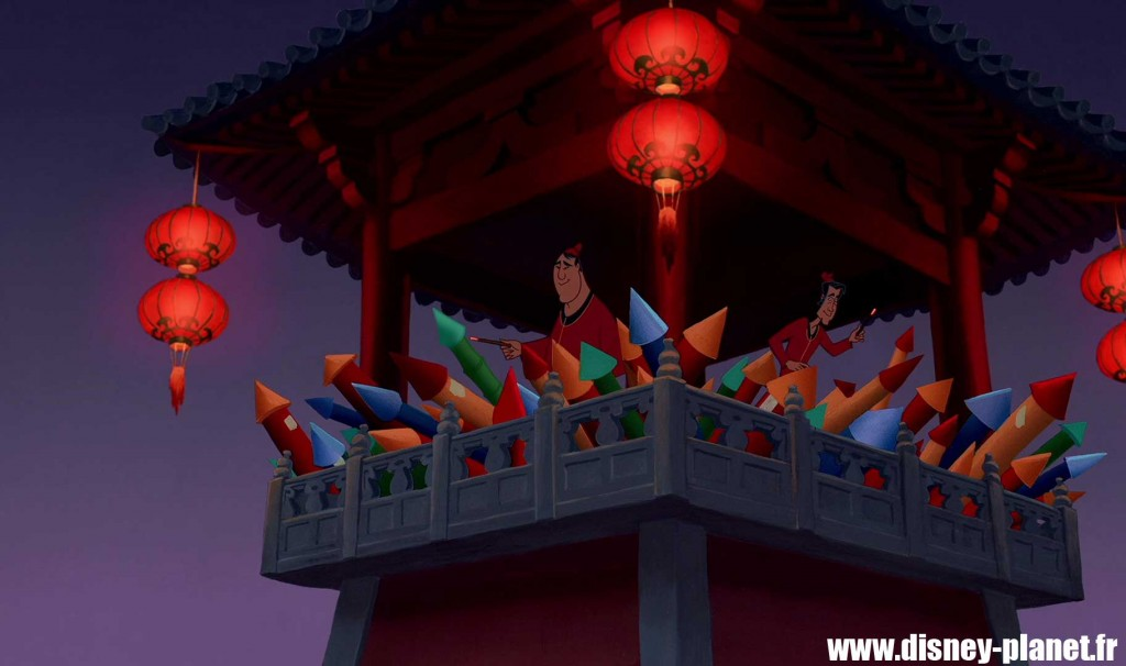 clin oeil mulan easter egg walt disney animation