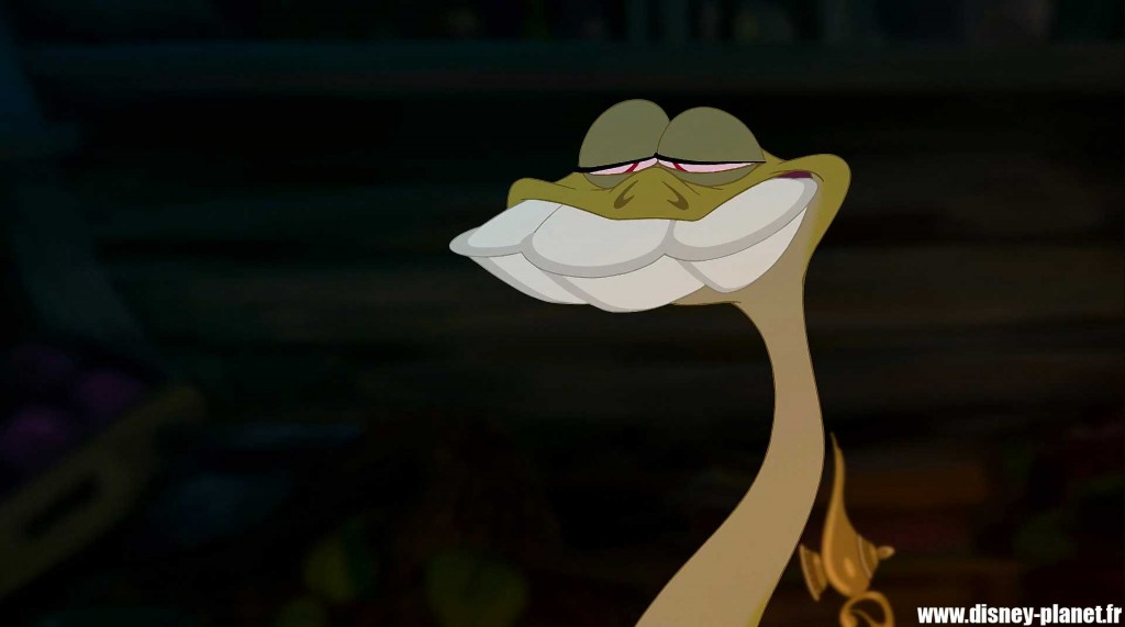 clin oeil princesse grenouille easter egg walt disney animation princess frog