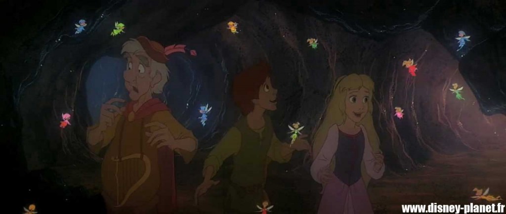clin-oeil taram chaudron magique easter egg walt disney animation black cauldron