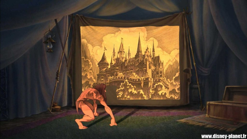 clin oeil tarzan easter egg walt disney animation